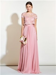 Beautiful Sweetheart Long Bridesmaid Dress With Jacket