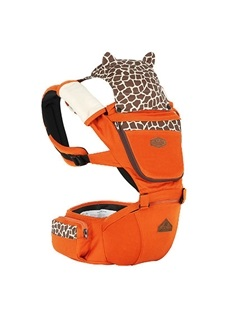 Colored Patchwork Baby Hip Seat Carrier