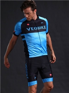 Breathable Fast Drying 4D Cushion Silicon Padded Short Sleeve Cycling Suit