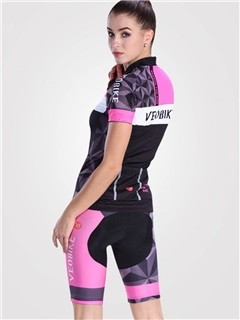 Lycra Stretchy Fast Drying Fabulous Printed Women Cycling Suit