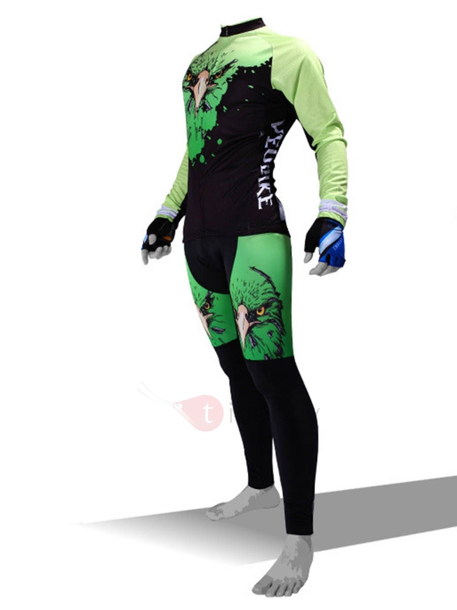 Lycra High Density Silica Gel Cushion Cycling Outfit