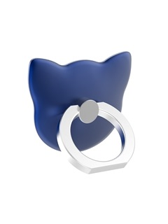 Cartoon Cat-Headed Aluminium Alloy Removable Ring Mobile Phone Holder