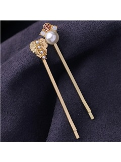 Simple Alloy Six Pieces Hairpin Set