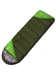 Polyester Waterproof Portable 2-Person Outdoor Sleeping Bag