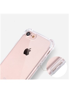 Tpu Airbag Shockproof Transparent Clear Soft TPU Flash Phone Case Cover for iPhone 7 7 Plus