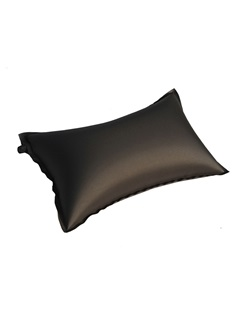 Pure Color Self-Inflating Air Outdoor Pillow