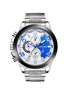 Large Dial Luminous Design Men's Quartz Watch 11