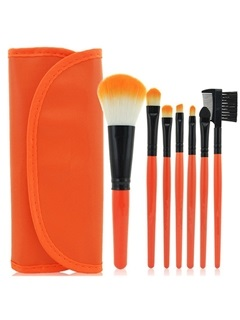 7 Pieces Colorful Convenient Cosmetic Brush