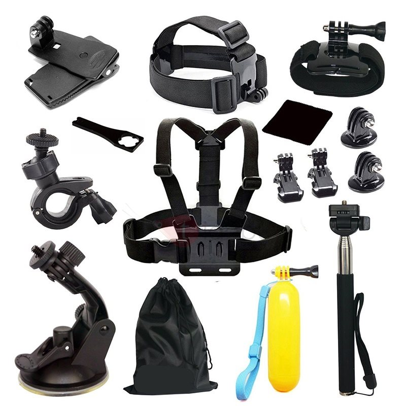 Practical 39in1 Sports Photography Set Kit Tools for GOPRO Camera Tripod