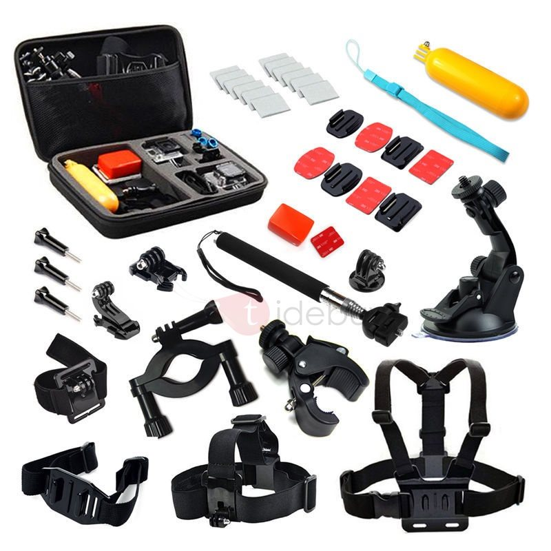 Practical 59in1 Sports Photography Set Kit Tools for GOPRO Camera Tripod