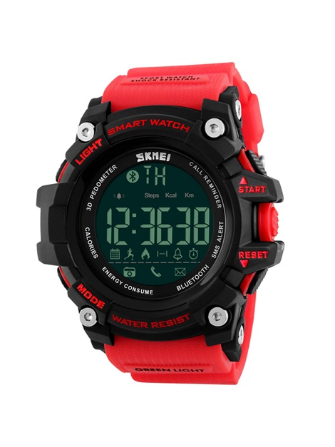 SKMEI Sport Bluetooth Smart Watch Support Call Remind & Remote Control Camera Waterproof Watch for IOS/Android
