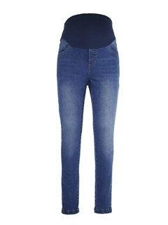 Fit Belly Skinny Leg Maternity Jeans