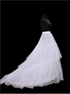 Gauze A-Line Two Steel Wires Wedding Petticoats 1