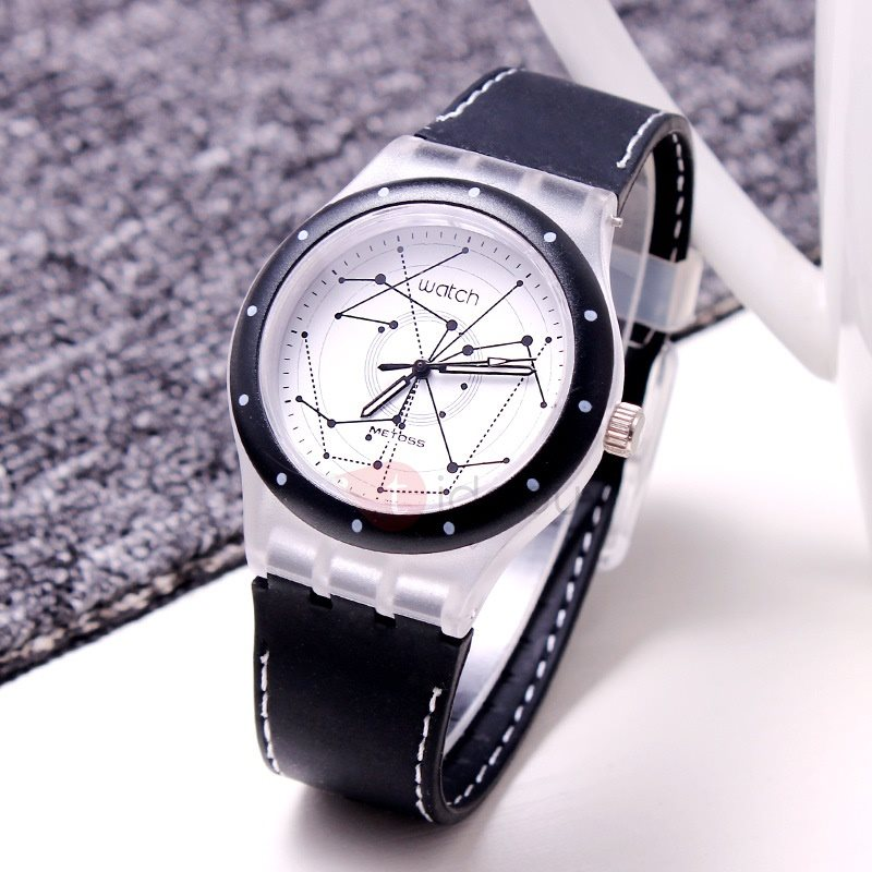 Unique Jelly Silicone Sports Mens Watches