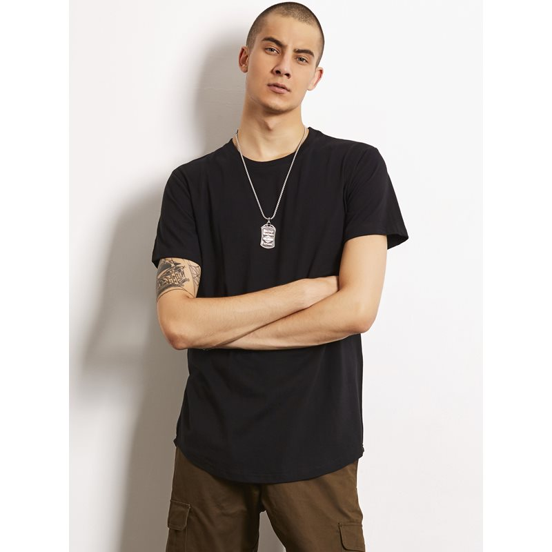 Image of Plain Arc Simple Mens Casual T-Shirt