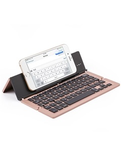 F18 Wireless Bluetooth Keyboard Triple-foldable Keyboard for iPad/Android Tablets 10