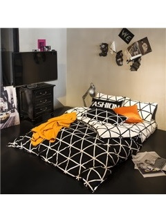 Wannaus Fashion Simple Style Cotton Bedding Sets