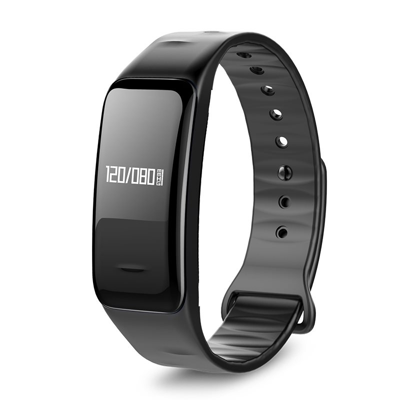 C1 Sport Waterproof Smart Bracelet Bluetooth Heart Rate Blood Pressure Monitor for Android IOS