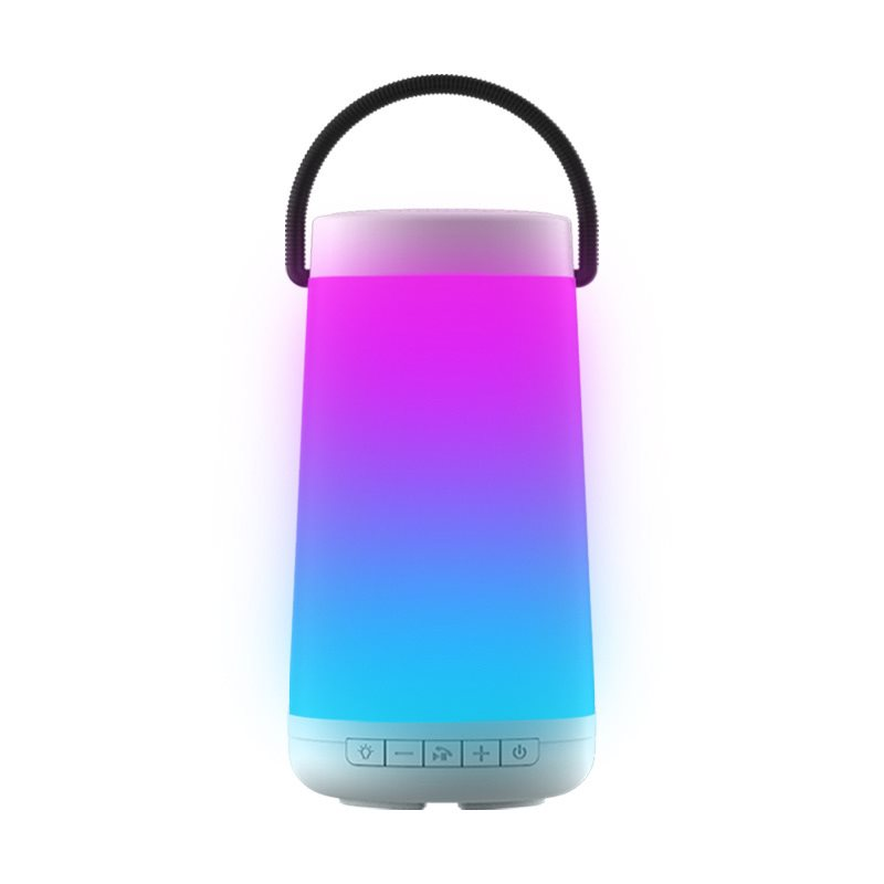 NewRixing Portable Wireless Speaker with Colorful LED Light
