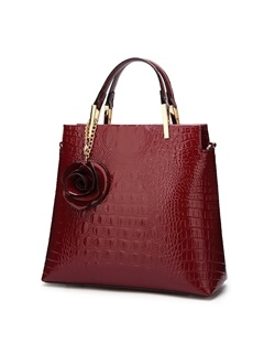 Classical Croco-Embossed Women Tote 2