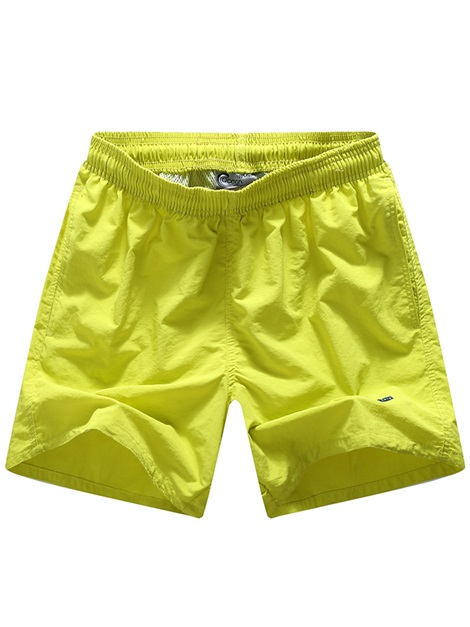 Tidebuy Solid Color Men's Board Shorts