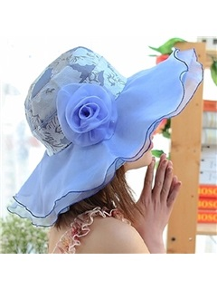 Breathability Flower Ultraviolet-Proof Hats  2