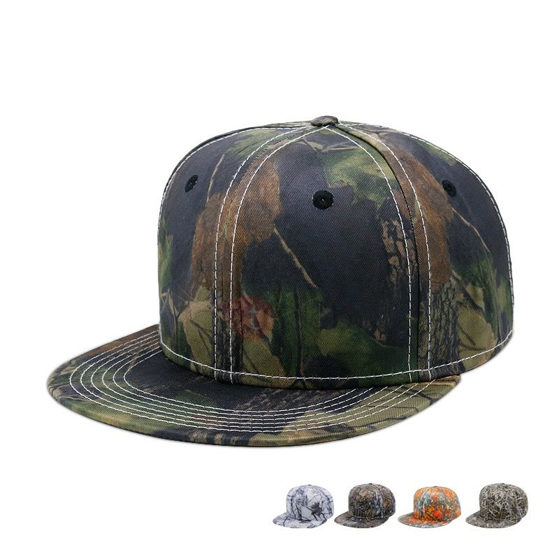 Image of Camouflage Hip Hop Mens Baseball Cap