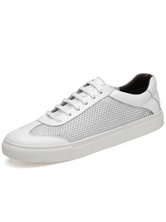 Mesh Plain Low-Cut Upper Men's Breathable Sneakers 2