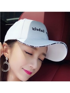 Student Letter Embroidery Adjustable Baseball Cap 1