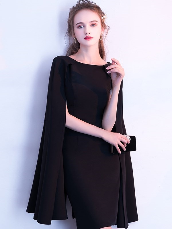 21c6d825742 Sheath Jewel Long Sleeves Homecoming Dress   Tidebuy.com