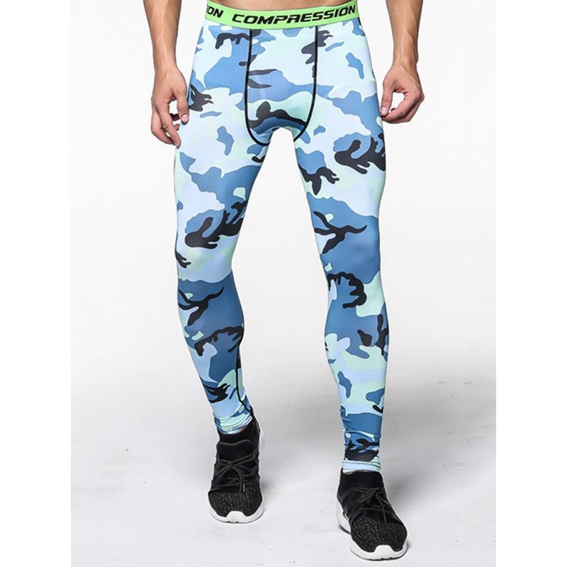 Mens Camouflage Quick-drying Outdoor Long Pants