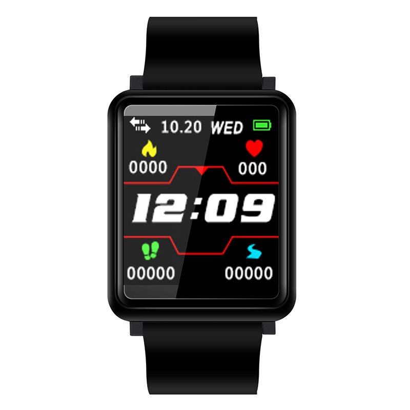 F1 Smart Watch Blood Pressure Monitoring Heart Rate Monitor Chrismas Gift for Men and Women