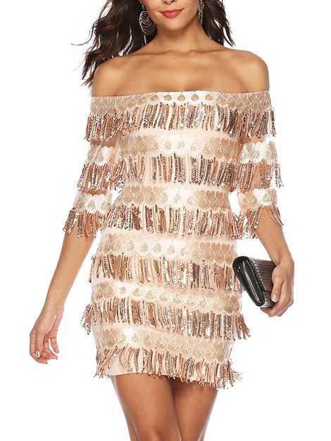 Above Knee Off Shoulder Sexy Party/Cocktail Women's Bodycon Dress