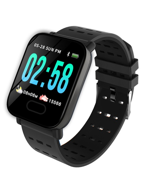 Smart Reminder Touch-Screen Silicon Smart Bracelet