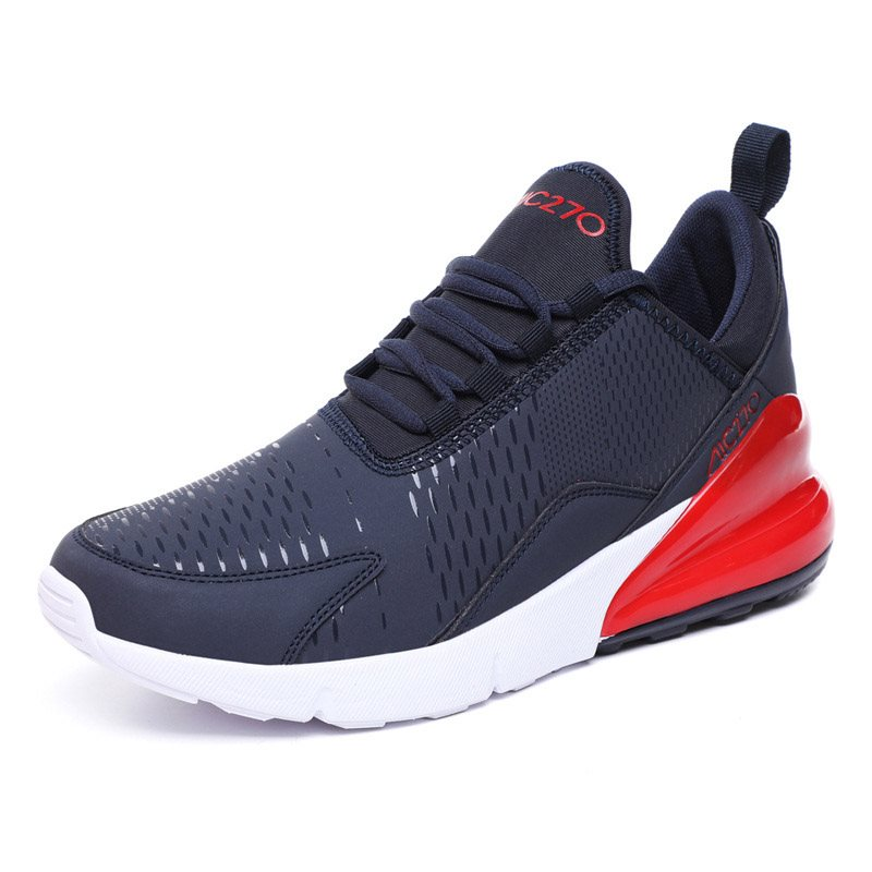 Mesh Lace-Up Low-Cut Upper Mens Sneakers фото