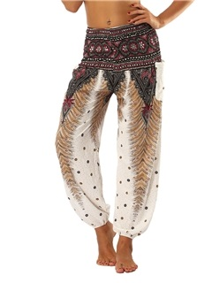 Dashiki Loose Geometric Women's Bloom Pants 5