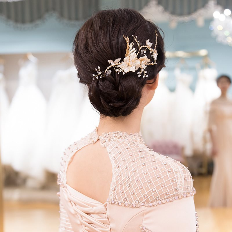 Handmade Plant Head Flower Hair Accessories (Wedding)