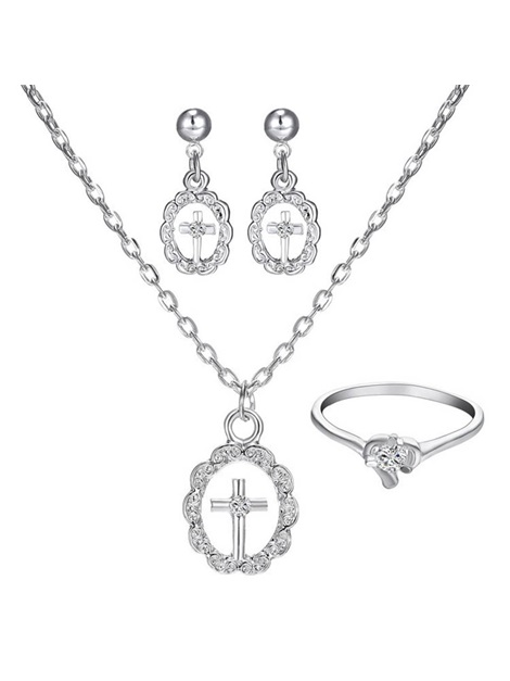 Diamante European Ring Jewelry Sets (Wedding)