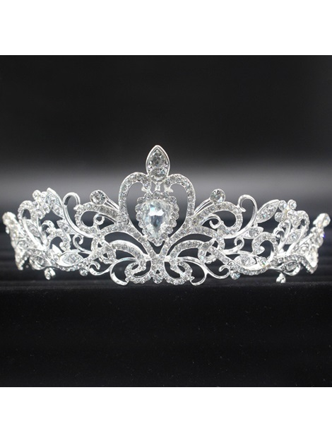 Tiara Korean Crown Hair Accessories (Wedding)