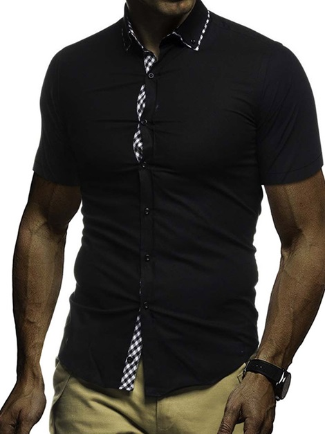 Lapel Loose Men's Shirt