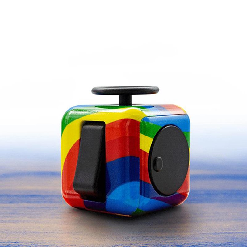 Educational ABS Fidget Toys Rubiks Cube with Multicolor фото
