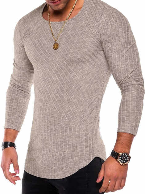 Round Neck Casual Plain Pullover Men's T-shirt