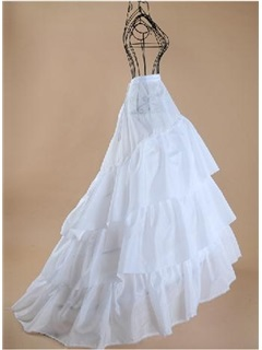 Three Layers Silk Floor Length Wedding Petticoats