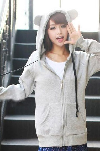 Multi Color High Quality Loose Warm Thick Fleeces Hoodie