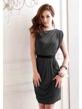 New Amazing One Shoulder Slanting Dress
