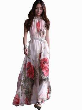 New Summer Beautiful Splendid Falbala Maxi Dress