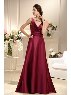 Remarkable Ruffles A Line Floor Length Bridesmaid Dress