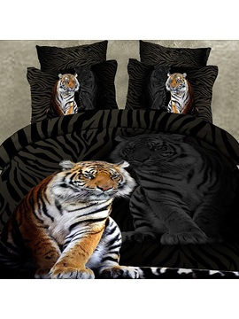 Vogue Tiger Cotton 4piece Bedding Sets