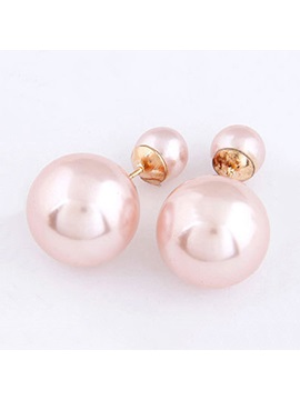 Brilliant All Matched Pearl Women Earrings