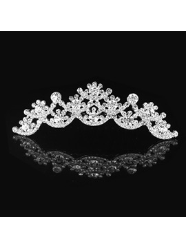 Brilliant Rhinestone Sun Wedding Dress Wedding Tiara